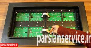 آموزش ساخت تابلو روان چهار ماژله نصب سیم فلت